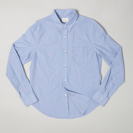 Band of Outsiders - Mille Striped L/S BD Shirt