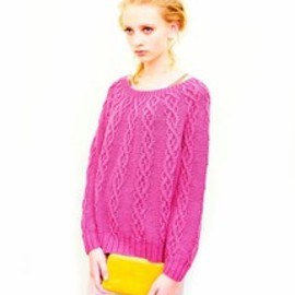 fev - alan weave cotton wide knit