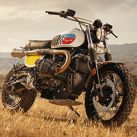"Fuel Motorcycles - ""Coyote"" BMW NineT"