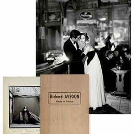RICHARD AVEDON - MADE IN FRANCE LTD 100 w/PRINT SIGNED