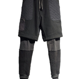 Wizzard - LAYERED PANTS-CHARCOAL