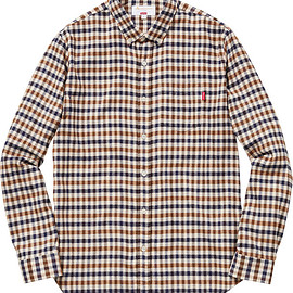 Supreme, Aquascutum - Club Check Flannel Shirt