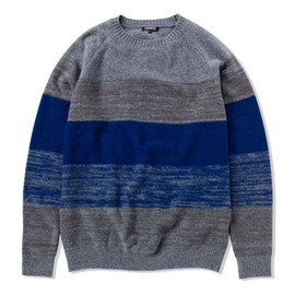 CASH CA - RANDOM FEED BLOCK SWEATER