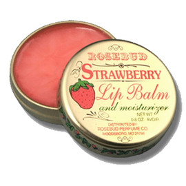 Rosebud Perfume Co  - Rosebud Strawberry Lip Balm