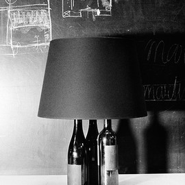 Maison Martin Margiela - Bottle Lamps. Limited edition for Japan.