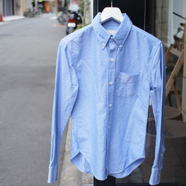 Band of Outsiders - B.D. SHIRT OXFORD BLUE