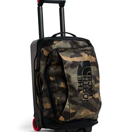 "THE NORTH FACE - Rolling Thunder 22"" - Burnt Olive Green Wax Camo/TNF Black"