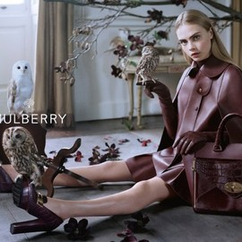 Mulberry - 2013 Fall AD Campaign by Tim Walker