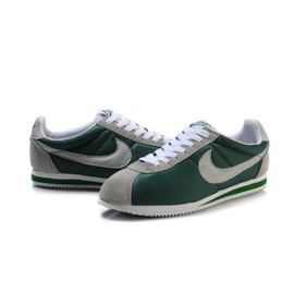 Nike - Nike Classic Cortez Nylon Shoes Mens Dark Green