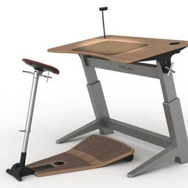 Locus - upright seat & desk