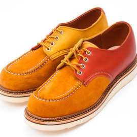 BEAUTY&YOUTH UNITED ARROWS, RED WING - CRAZY OXFORD