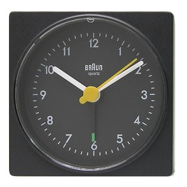 Braun Quartz 3 Hand Movement Watch BN0024WHBKG