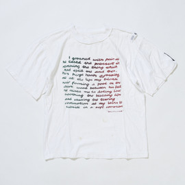 SEDITIONARIES - Message Tshirt