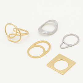ENFOLD - ◇TWIST RING SET