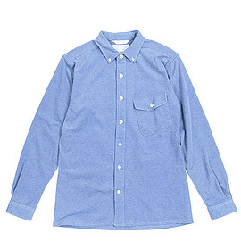 nanamica - Wind Shirt-Blue