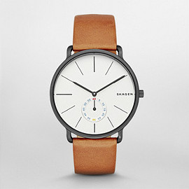 SKAGEN - Hagen Multifunction Leather Watch