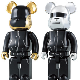 MEDICOM TOY - BE@RBRICK 400% DAFT PUNK 2PACK
