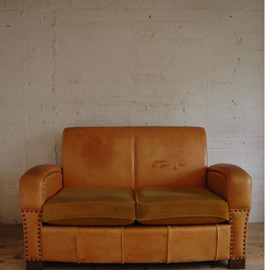 TRUCK  - LEATHER SOFA