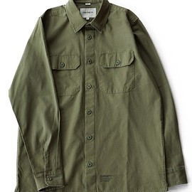 carhartt WIP - L/S Mission Shirt (rover green)