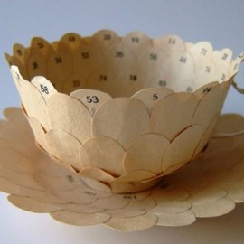 Cecilia Levy - art, recycled art, green art, eco art, sustainable art, cecilia levy, swedish artists, tea cup art, recycled books, book art, green books, green tea cups, recycled materials, salvaged materials, paper products, paper art, recycled sculpture, green sculpture, eco sculpture