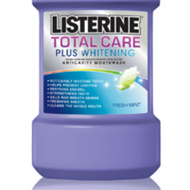 LISTERINE - TOTAL CARE PLUS WHITENING FRESH MINT