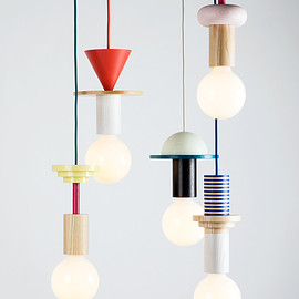 the northern-german design studio - modular geometic pendant light