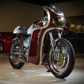 Analog Motorcycles - 1940 Indian Scout