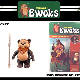 Kenner - STAR WARS EWOKS WICKET