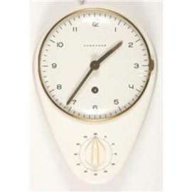 junghans - Max Bill-Manual kitchen clock