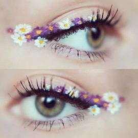 / - flower_eye make up