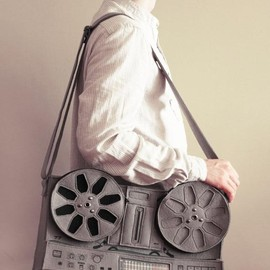 krukrustudio - AKAI - 77 Reel-to-Reel Bag