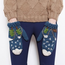 la casita de wendy - crochetted gloves