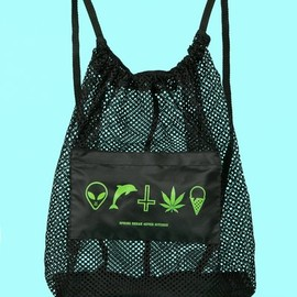 OPENING CEREMONY X 'SPRING BREAKERS' - Mesh backpack
