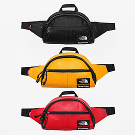 Supreme, THE NORTH FACE - Leather Roo II Lumbar Pack