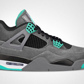 "Nike - Air Jordan IV Retro ""Green Glow"""