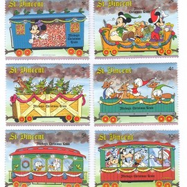 Disney - Christmas Stamps