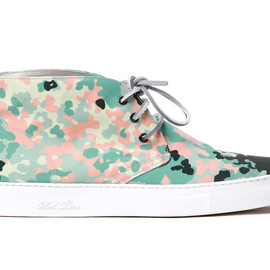 Del Toro - Del Toro South Beach Camo Alto Chukka