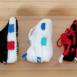 picasso babe - Crochet adidas NMDs