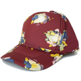 KAREN WALKER - The American Girl Hat (burgundy)