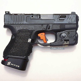 GLOCK - 26 with HYVE Mag and TLR-6