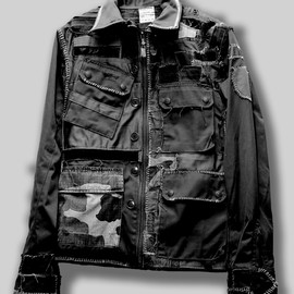 TWENTYFOUR SEVEN - military remake jacket