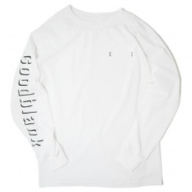 Goodblank - Shade Logo Long Sleeve TEE WHT×BLK