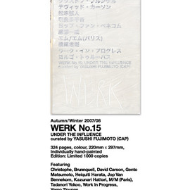 WORK - WERK magazine No.15