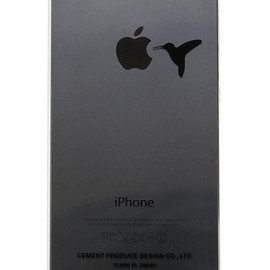 """CEMENT PRODUCE DESIGN, iTattoo - """"Don't feed a bird"""" for iPhone5 Black & Slate"""