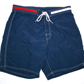 TOMMY HILFIGER - Vintage Tommy Hilfiger Swim Trunks Mens Size Medium