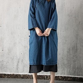 Navy Oversize dress, Loose Hooded dress, Skin pink maxi dress, Cotton long dress