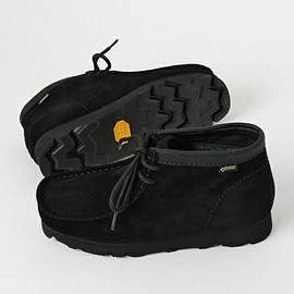 Clarks - Wallabee Boots GTX - Black