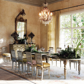 and a stunning dining room