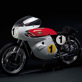 Gilera - 500 4 (Quattro) racing motorcycle