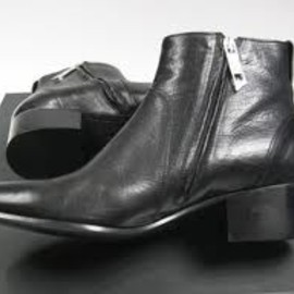 Dior Homme - AW10 Dior Homme Black Leather Cuban Heel Boots